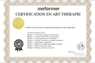 certification - art-thérapie